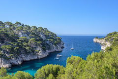 Wonderful Calanque Stock Photography