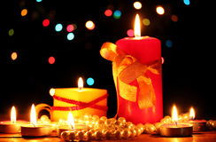 Wonderful candles Royalty Free Stock Photos