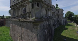 Wonderful Castle-Palace stock footage