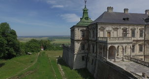 Wonderful Castle-Palace stock video