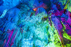 Wonderful cave in China (Yinziyan) Stock Photography