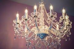 Wonderful chandelier Stock Photo