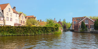 Wonderful channels of Brugge Stock Photos