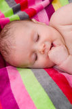 Wonderful children asleep Royalty Free Stock Photography