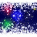 Wonderful Christmas background design illustration Royalty Free Stock Photo