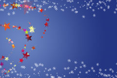 Wonderful Christmas background design Royalty Free Stock Photography