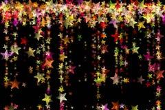 Wonderful Christmas background design illustration. With stars Royalty Free Stock Image