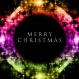 Wonderful Christmas background. Design illustration with stars Stock Image