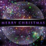 Wonderful Christmas background design. Illustration with stars Stock Photo