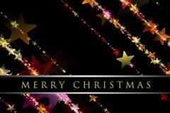 Wonderful Christmas background design. Illustration with stars Stock Photos