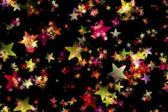 Wonderful Christmas background design. Illustration with stars Royalty Free Stock Photo