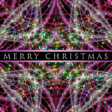Wonderful Christmas background design Stock Photos