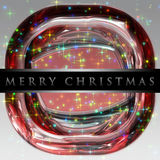 Wonderful Christmas background design. Illustration with stars Stock Photography