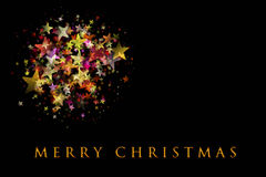 Wonderful Christmas background design royalty free stock images