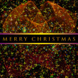 Wonderful Christmas background design stock photo