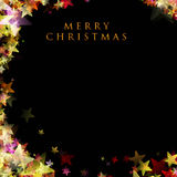 Wonderful Christmas background design illustration royalty free stock photo