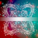 Wonderful Christmas background design illustration Royalty Free Stock Photography