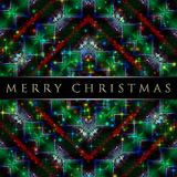 Wonderful Christmas background design. Illustration with stars and snowflakes Royalty Free Stock Photos