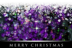 Wonderful Christmas background design Stock Images