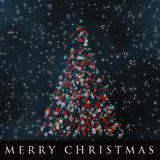 Wonderful Christmas background design Royalty Free Stock Photo