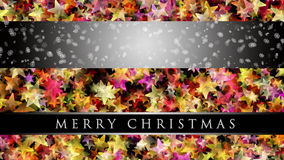 Wonderful Christmas background design. With snowflakes and stars Royalty Free Stock Photo