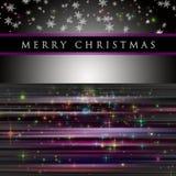 Wonderful Christmas background design Stock Photography