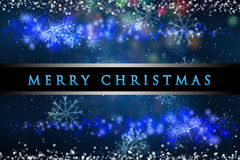 Wonderful Christmas background design Stock Image