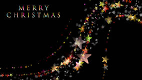 Wonderful Christmas background design with stars and snowflakes Stock Photo