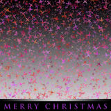 Wonderful Christmas design with stars Stock Images