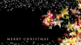 Wonderful Christmas design with stars and snowflakes. Wonderful Christmas background design with snowflakes and stars Royalty Free Stock Photography