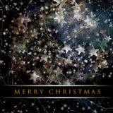 Wonderful Christmas grunge design Royalty Free Stock Image