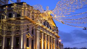 Free Wonderful Christmas Lights In The Streets Of London - LONDON, ENGLAND - DECEMBER 10, 2019 Stock Image - 173194641