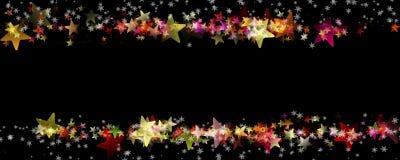 Wonderful Christmas panorama background design Royalty Free Stock Photo