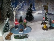 Wonderful Christmas scene Stock Photography