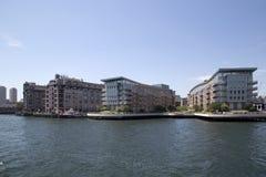 Wonderful city  Boston apartment buildings. Beautiful modern city Boston apartment buildings   , Mass  USA Royalty Free Stock Photos