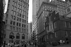 Wonderful city Boston downtown view Stock Photography