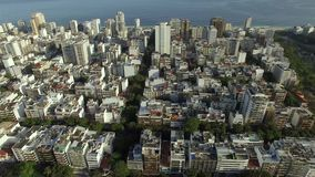 Wonderful city. Wonderful places in the world. Neighborhood of Ipanema in Rio de Janeiro, Brazil. South America stock video