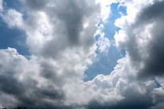 Wonderful clouds Royalty Free Stock Photo