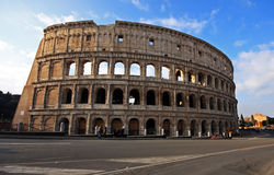 The wonderful Colloseum in Rome Royalty Free Stock Photo