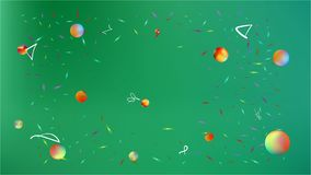 Usefull abstract space background picture bright. stock illustration
