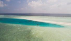 Wonderful colors of Indian ocean Royalty Free Stock Photo