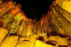 Wonderful columnar on night scene Royalty Free Stock Photo