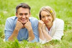 Wonderful couple Stock Image