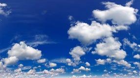 Wonderful cumulus clouds in sky Stock Photo