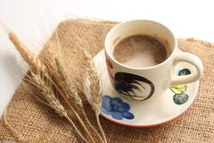 Wonderful cup of hot coffee Royalty Free Stock Photo