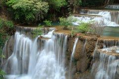 Deep forest Waterfall in Kanchanaburi. Wonderful deep forest Waterfall in Kanchanaburi, Thailand Royalty Free Stock Photo