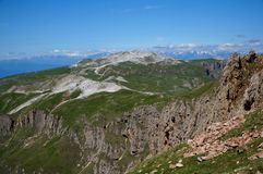 Wonderful dolomite mountains scenry / alpine landscape / great view Stock Image