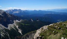 Wonderful dolomite mountains scenry / alpine landscape / great view Stock Photo