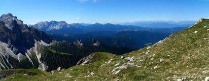 Wonderful dolomite mountains scenry / alpine landscape / great view Royalty Free Stock Image