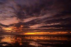 Wonderful dusk time Stock Image
